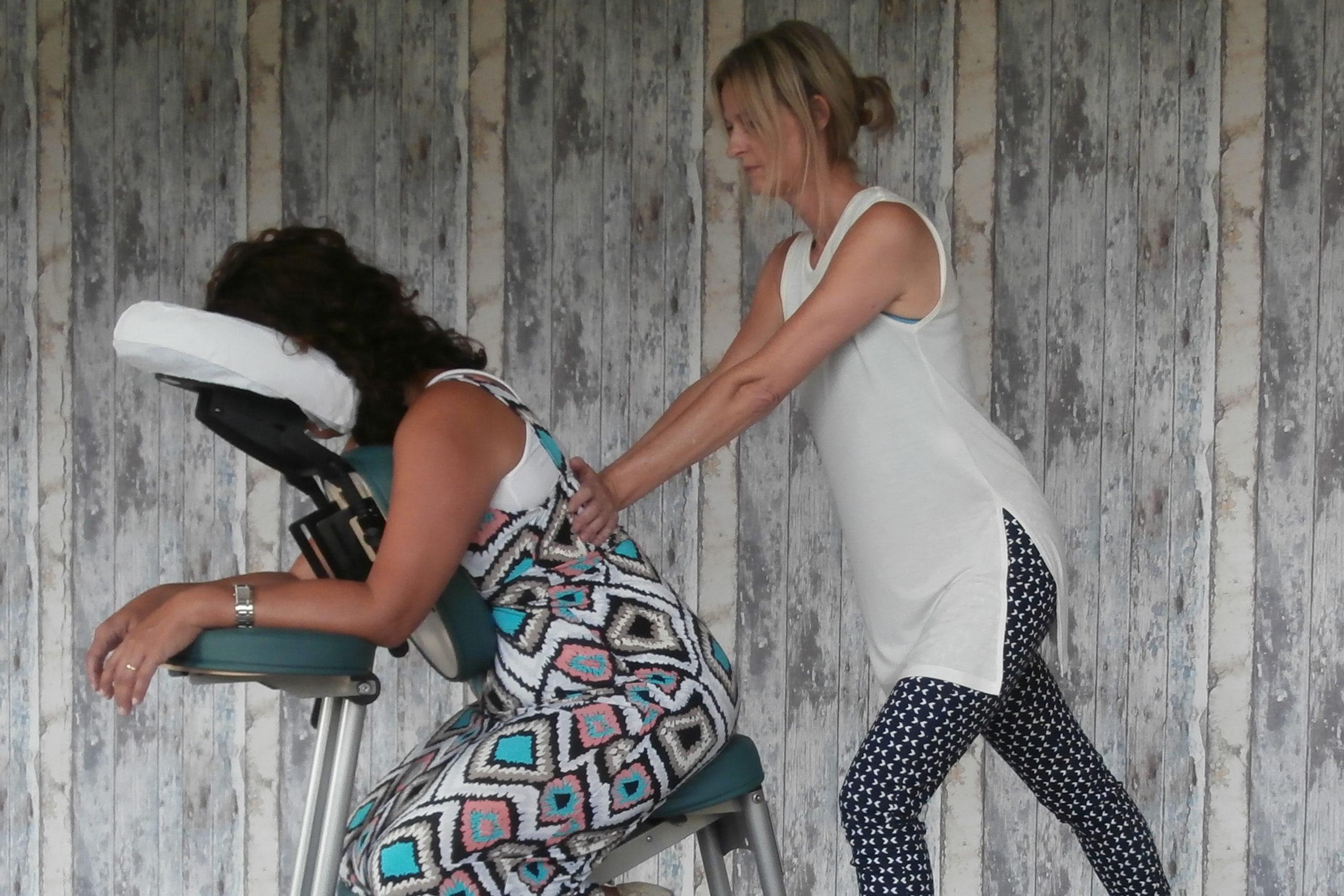 Stoelmassage Vitfirma